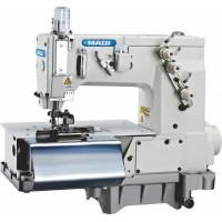 MAQI LS 2000C шльовочна машина з двохстороньою підрізкою тканини перед формувачем